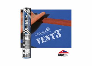 Chandler Branded Cromar Vent3 Classic Breathable Membrane 115g 1.5x50m