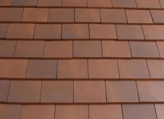 Marley Clay Acme Machine Made Single Camber Plain Tile Mixed Brindle