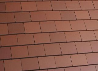 Marley Clay Acme Machine Made Single Camber Plain Tile Smooth Red
