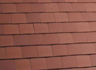 Marley Clay Acme Machine Made Single Camber Tile & Half Red Sandfaced