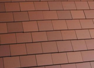 Marley Clay Acme Machine Made Single Camber Tile & Half Smooth Red