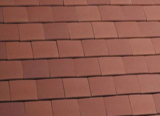 Marley Clay Acme Machine Made Single Camber Tile Red Sandfaced