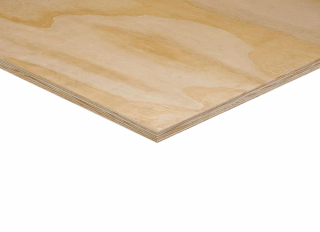 C+/C 2440X1220X12mm EXT S/WOOD SHUTTERING PLY CE2 STRUCTURAL